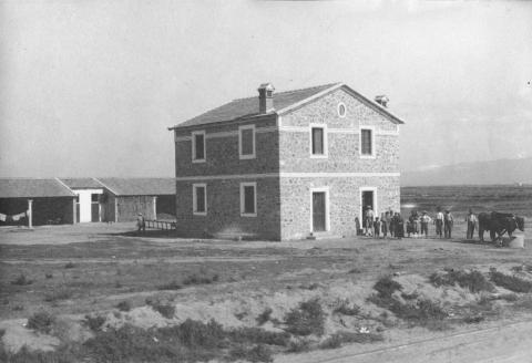 Casa colonica - Archivio di Stato di Oristano prot. 732 del 21-07-2016